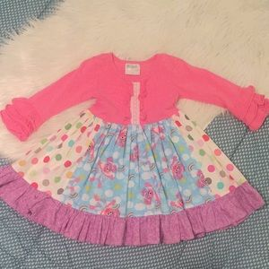 Abby Cadabby boutique dress 2-3t